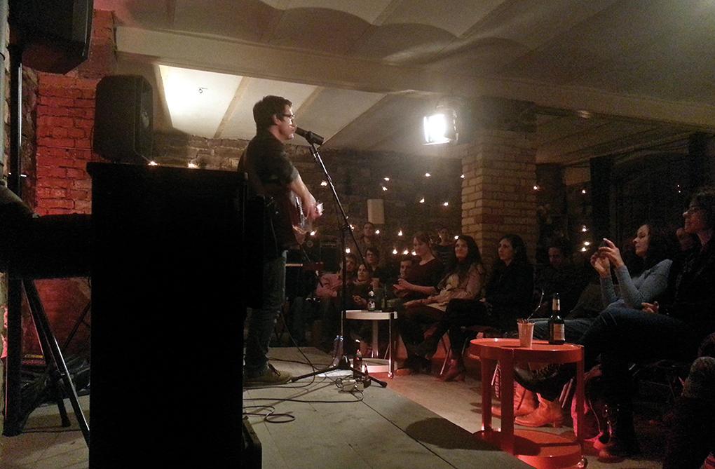 Letztes Kellerhallen-Konzert2014