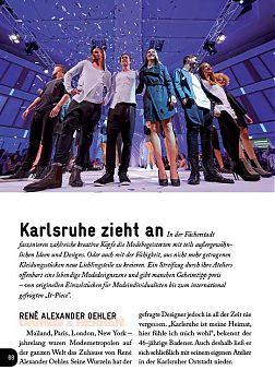 Modenschau, Riaz Dan, Karlsruhe
