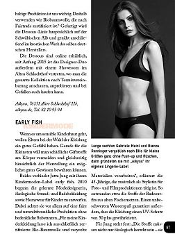 Modedesign, Karlsruhe, Aikyou, Early Fish, Dessous, Lingerie