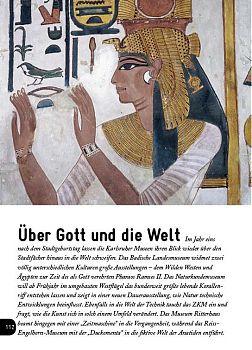 Museen, Karlsruhe, Badisches Landesmuseum, Stadtbuch