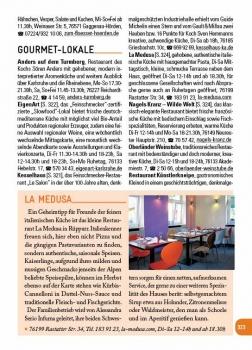 La Medusa, Restaurant, Feinschmecker, Gourmet-Lokale, Karlsruhe